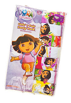 Nickelodeon 7-Pack Dora Panty Girls 4-8