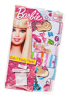 Mattel 7-Pack Barbie Panty Girls 4-8