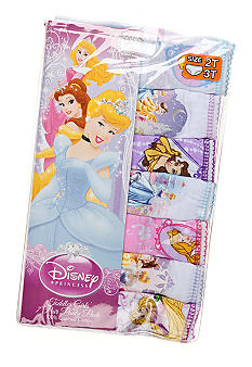 Disney Princess 7Pk Princess Panty Girls 4-8