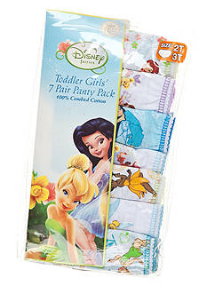 Disney Fairies 7-Pack Tinkerbell Panty Girls 4-8