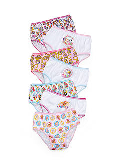 Disney Princess 7-Pack Palace Pets Panties Girls 4-8