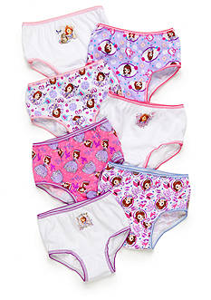 Disney Princess 7-Pack Sophia the First Girls Panties