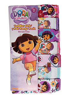 Nickelodeon 7-Pack Dora Panty Toddler Girl