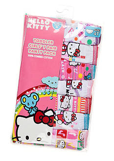 Hello Kitty 7-Pack Assorted Panties Toddler Girls