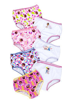 Disney 7 Pack Doc McStuffins Panty Toddler Girls