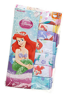 Disney Princess 7-Pack Ariel Panty Toddler Girl