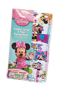 Disney 7-Pack Minnie Mouse Panties Toddler Girl