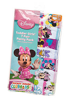 Disney 7-Pack Minnie Mouse Underwear Toddler Girls