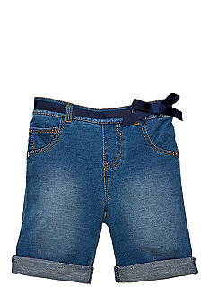 Flapdoodles Darcie Denim Bermuda Girls 4-6X