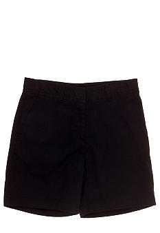 Izod Uniform Twill Short Girls 7-16