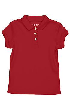 Izod Uniform Polo Knit Girls 4-6x