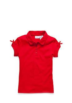 IZOD Uniform Polo With Bow Girls 4-6x