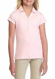 IZOD Uniform Y-Neck Polo Girls 7-16