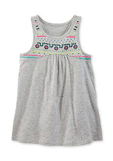 OshKosh B'gosh Embroidered Printed Tunic Girls 4-6x
