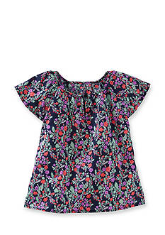 OshKosh B'gosh Floral Woven Top Girls 4-6x