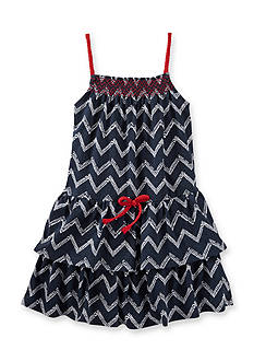 OshKosh B'gosh Chevron Knit Dress Girls 4-6x