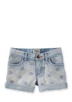 OshKosh B'gosh Denim Star Shorts Girls 4-6x