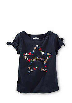 OshKosh B'gosh Star 'Celebrate' Top Girls 4-6x