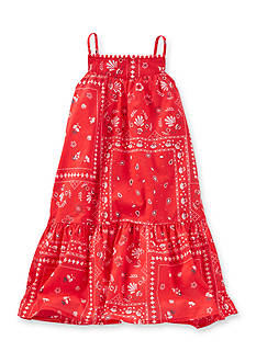 OshKosh B'gosh Bandanna Printed Dress Girls 4-6x