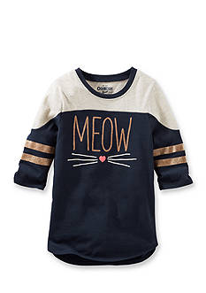 OshKosh B'gosh Long Sleeve Meow Tunic Girls 4-6x