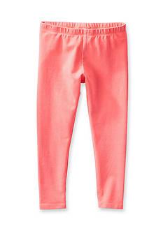 OshKosh B'gosh Neon Orange Leggings Girls 4-6x