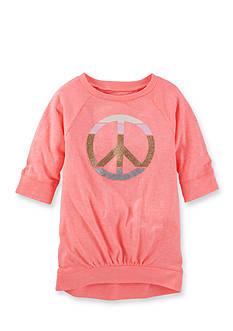 OshKosh B'gosh Long Sleeve Peace Tunic Girls 4-6x