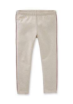 OshKosh B'gosh Oatmeal Tuxedo Leggings Girls 4-6x