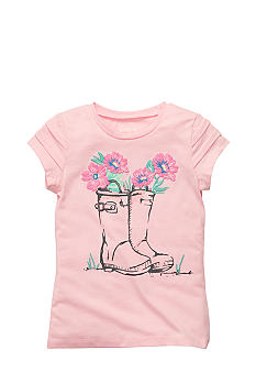 OshKosh B'gosh® Rain Boot Tee Girls 4-6X
