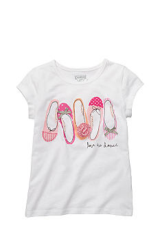 OshKosh B'gosh® Love To Dance Tee Girls 4-6X