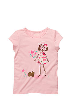 OshKosh B'gosh® Bouquet Girl Tee Girls 4-6X