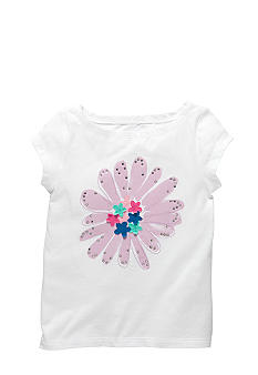OshKosh B'gosh Embellished Flower Tee Girls 4-6X