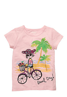 OshKosh B'gosh Bicycle Tee Girls 4-6X