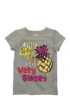 OshKosh B'gosh Pineapple Tee Girls 4-6X