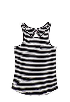 OshKosh B'gosh Navy Stripe Tank Girls 4-6X