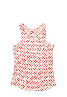 OshKosh B'gosh Coral Dot Tank Girls 4-6X