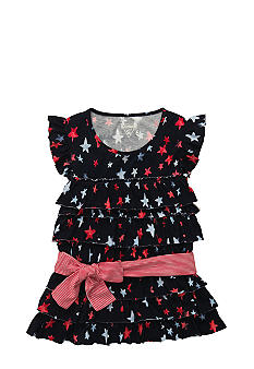 OshKosh B'gosh Star Ruffle Top Girls 4-6X