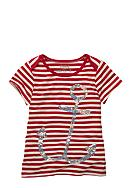 OshKosh B'gosh® Striped Anchor Tee Girls 4-6X