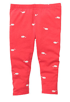 OshKosh B'gosh Whale Print Leggings Girls 4-6X