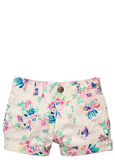 Carter's Floral Print Shorts Girl 4-6X