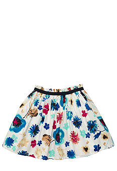 OshKosh B'gosh Watercolor Floral Bubble Skort Girls 4-6X