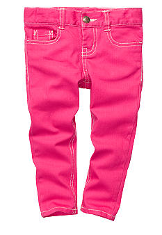 OshKosh B'gosh® Twill Capri Girls 4-6X