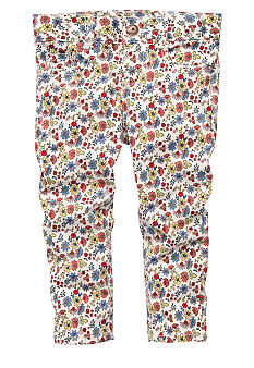 OshKosh B'gosh Floral Twill Capri Girls 4-6X
