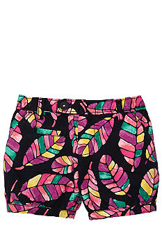 OshKosh B'gosh Feather Print Short Girls 4-6x