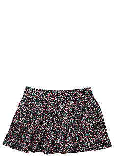 OshKosh B'gosh Navy Floral Skirt Girls 4-6X