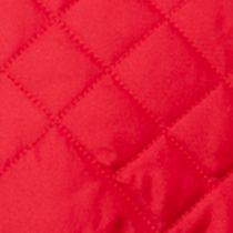 Pistachio Cold Weather Shop: Red Pistachio Quilted Faux Fur Trim Jacket Girls 4-6x