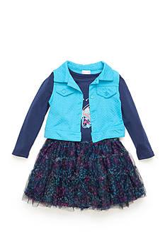 Nannette Butterfly Vest Dress