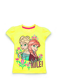 Disney Frozen 'Sisters Rule' Top Girls 4-6x