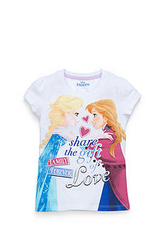 Disney Frozen 'Family Forever' Top Girls 4-6x