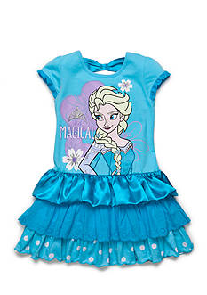 Disney Frozen Elsa 'It's Magical' Tiered Dress Girls 4-6x