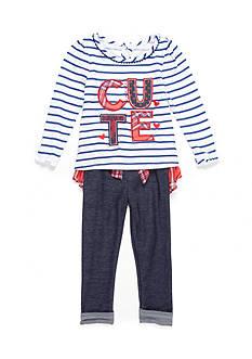Nannette Jegging 2-Piece Set Girls 4-6x